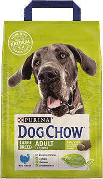 Purina Dog Chow Large Breed Adult Kalkun