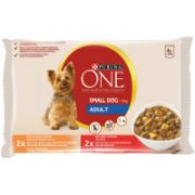 Purina ONE Small Dog våtfôr for små hunder < 10 kg Adult