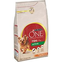 Purina ONE Small Dog < 10 kg Active, rik på kylling, med ris