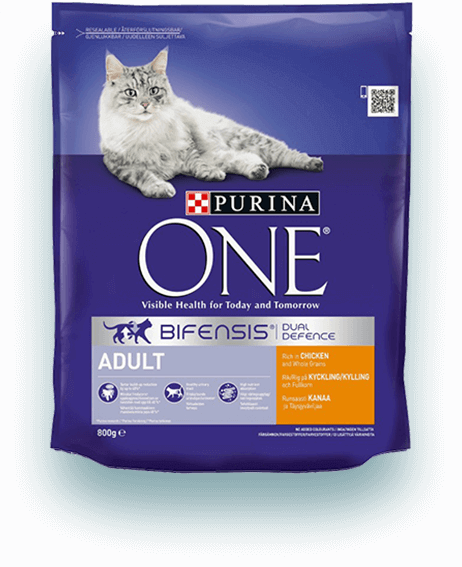 PURINA ONE Adult Cat, Rik på kylling og helkorn