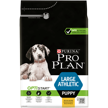 ​PURINA® PRO PLAN® Large Athletic Puppy med OPTISTART® Rik på kylling