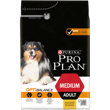 ​PURINA® PRO PLAN® Medium Adult med OPTIBALANCE™ Rik på kylling