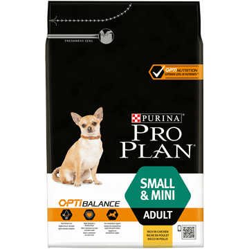​PURINA® PRO PLAN® Small & Mini Adult med OPTIBALANCE™ Rik på kylling
