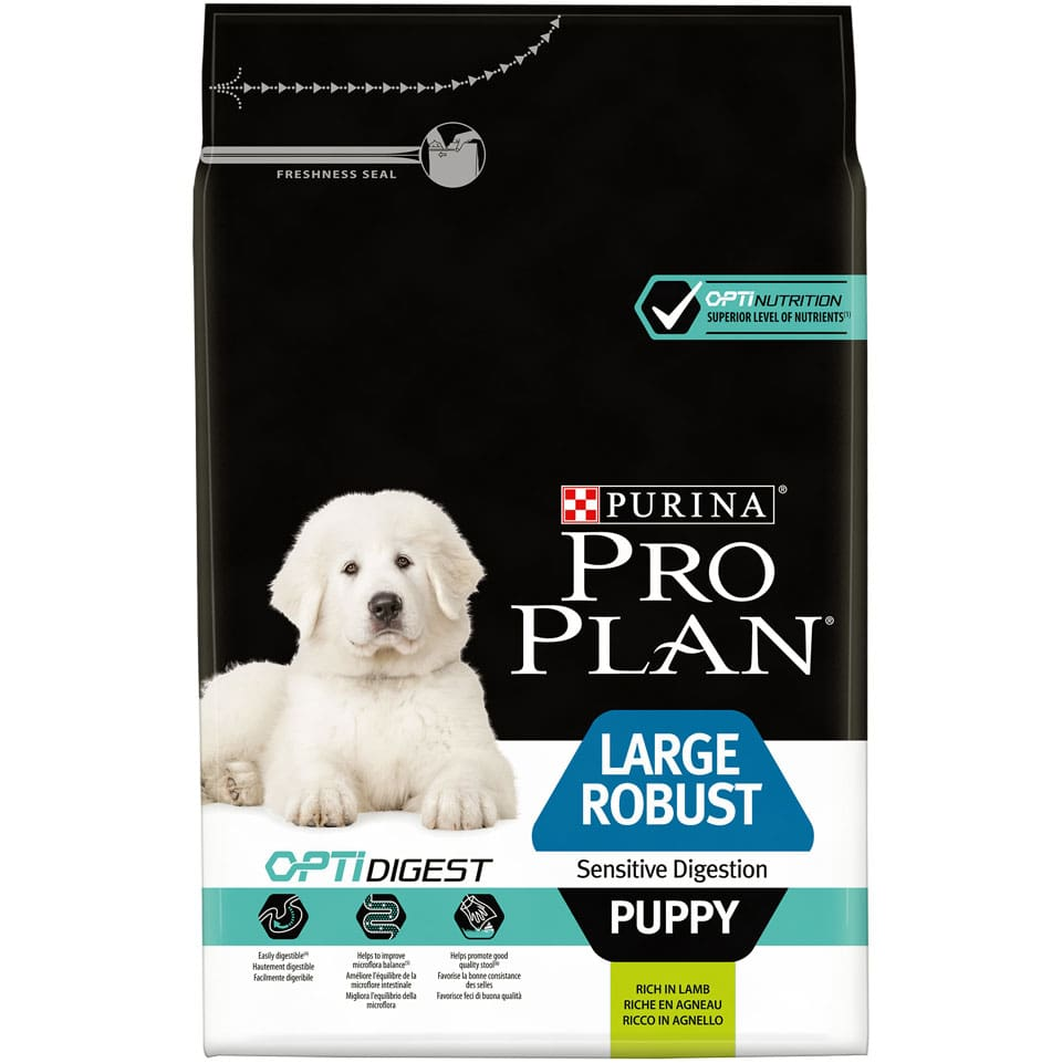 ​PURINA® PRO PLAN® Large Robust Adult Sensitive Digestion med OPTIDIGEST® Rik på lam