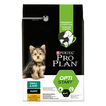 ​PURINA® PRO PLAN® Small & Mini Puppy med OPTISTART® Rik på kylling
